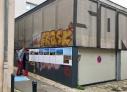 Nantes , installation avec la Base d'Appui Entre-deux