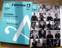 Sortie du DVD Arte Creative ADAGP, 2016